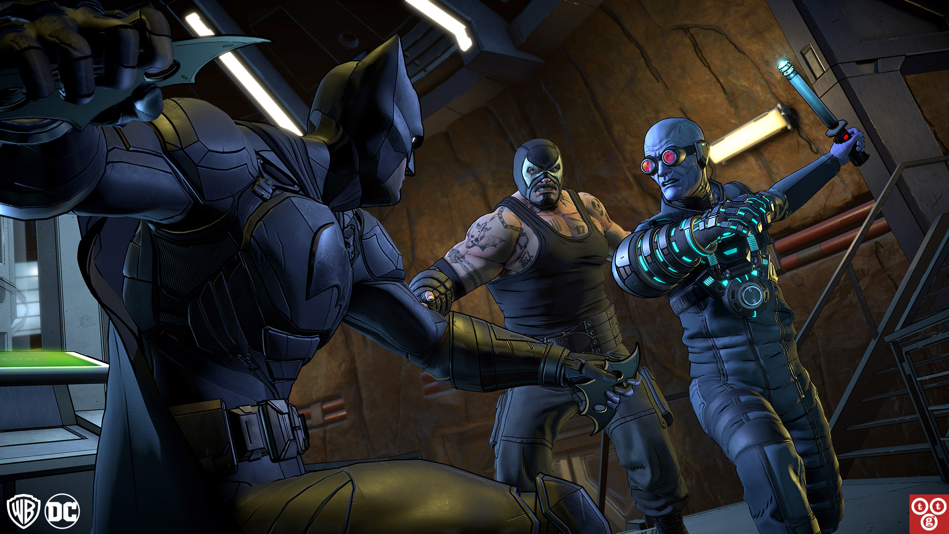 Batman: The Enemy Within - The Telltale Series Wallpaper in 1920x1080
