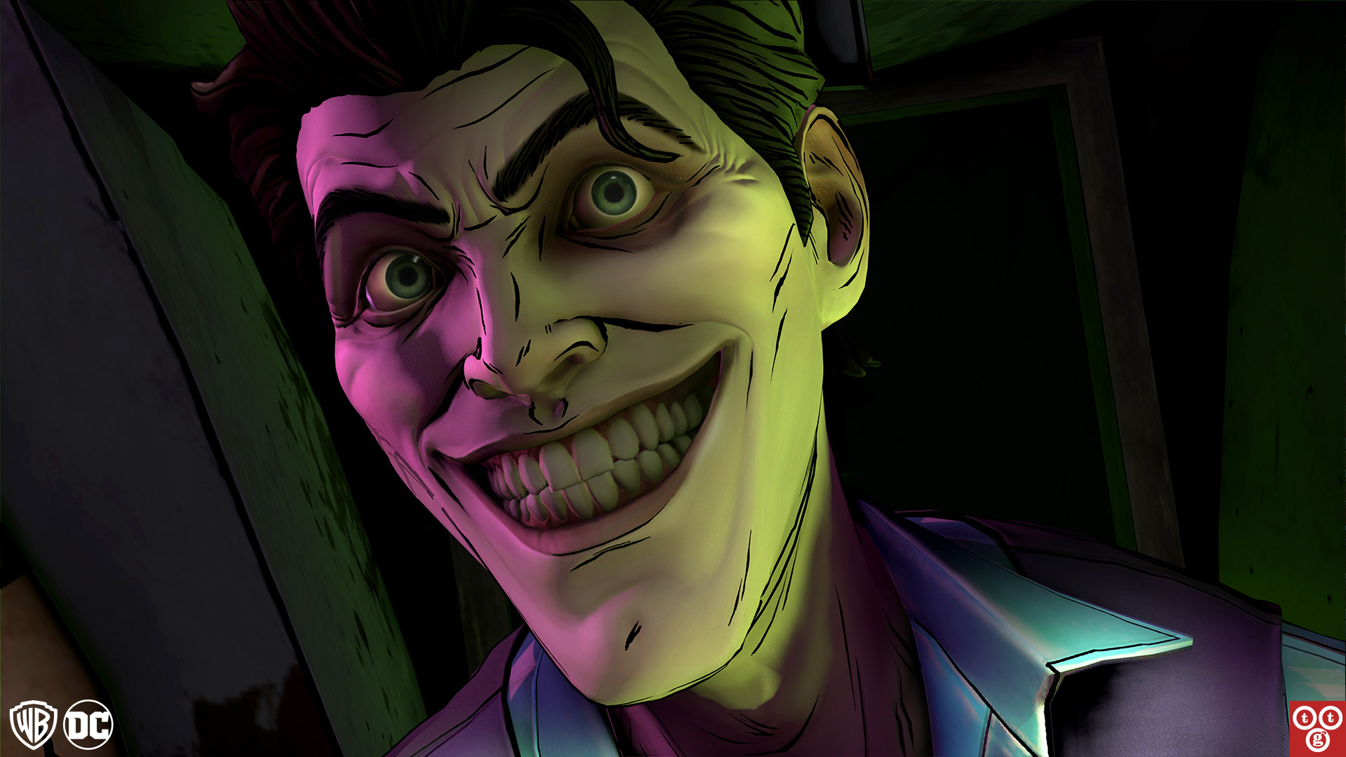 Free Batman: The Enemy Within - The Telltale Series Wallpaper in 1920x1080