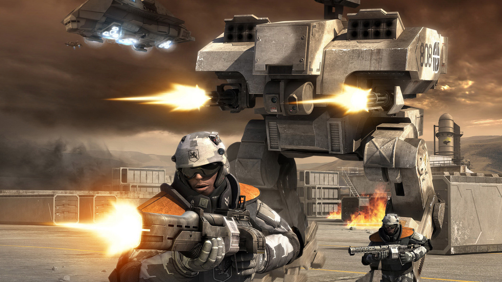Free Battlefield 2142 Wallpaper in 1920x1080