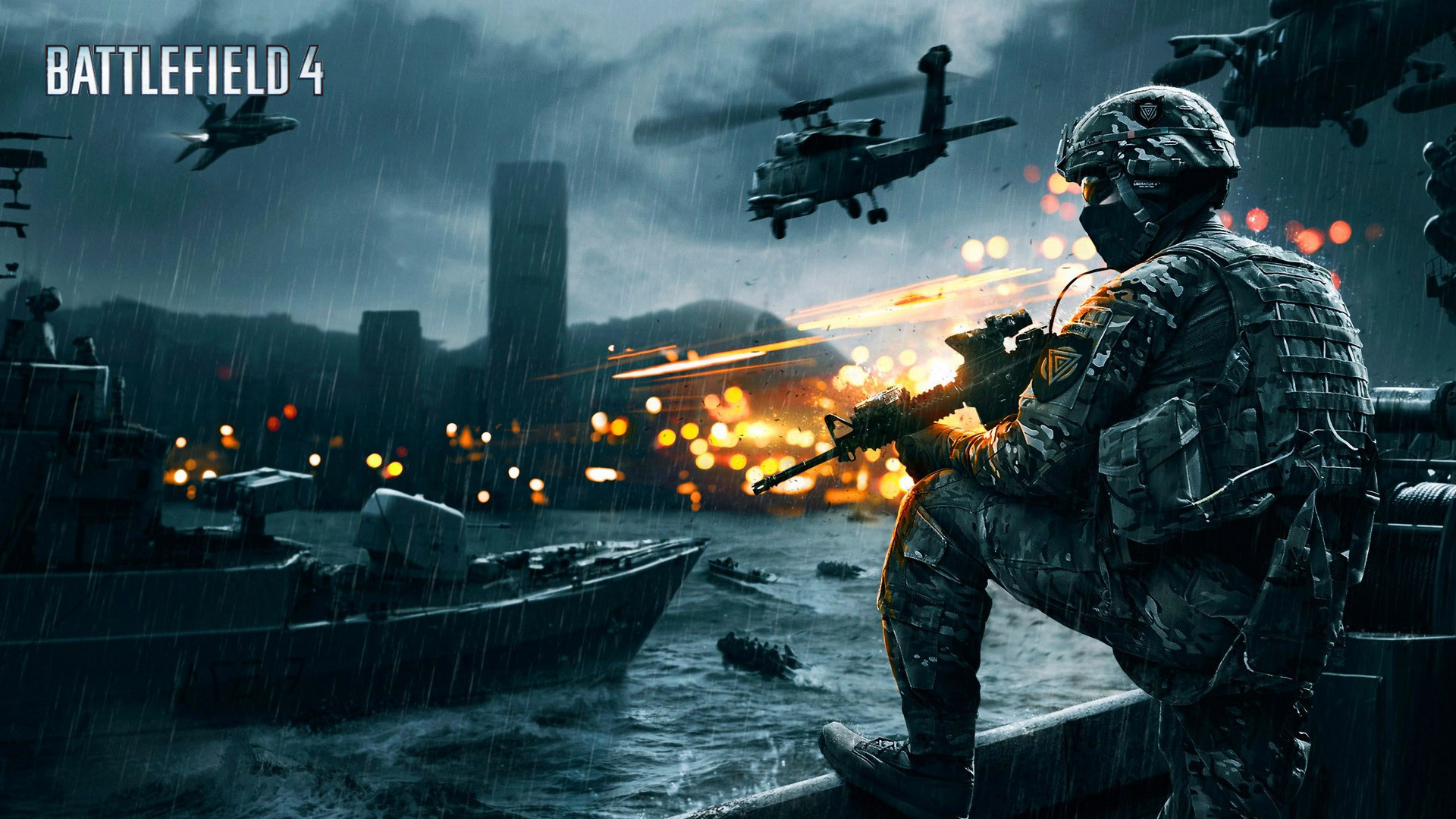 Free Battlefield 4 Wallpaper in 1920x1080