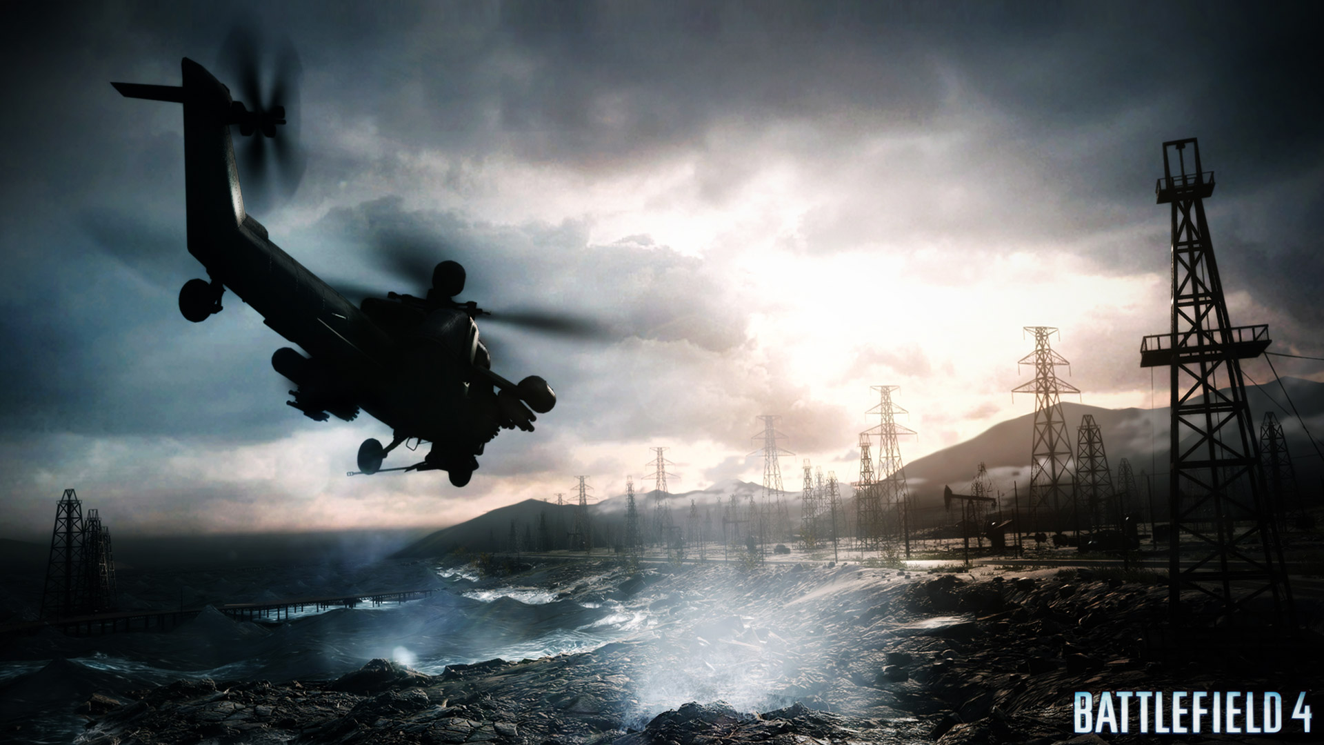Battlefield 4 Wallpaper in 1920x1080