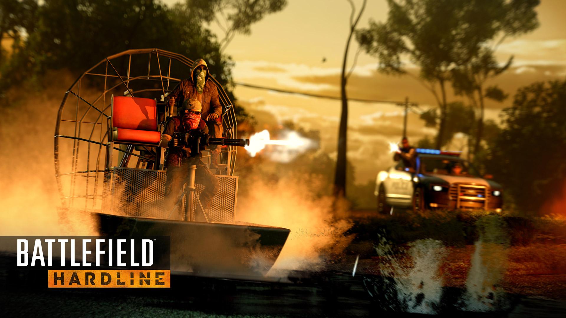 Battlefield: Hardline Wallpaper in 1920x1080