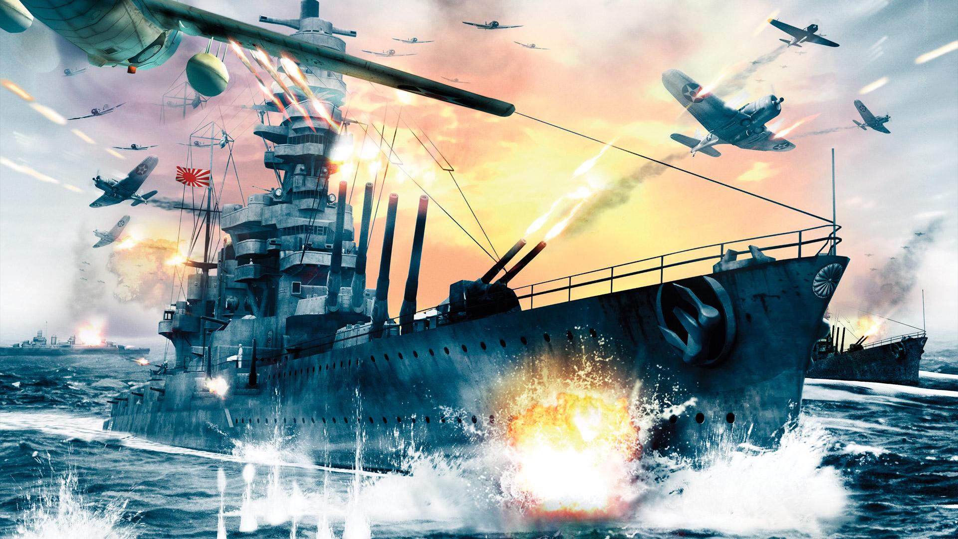 Battlestations: Midway Wallpaper in 1920x1080