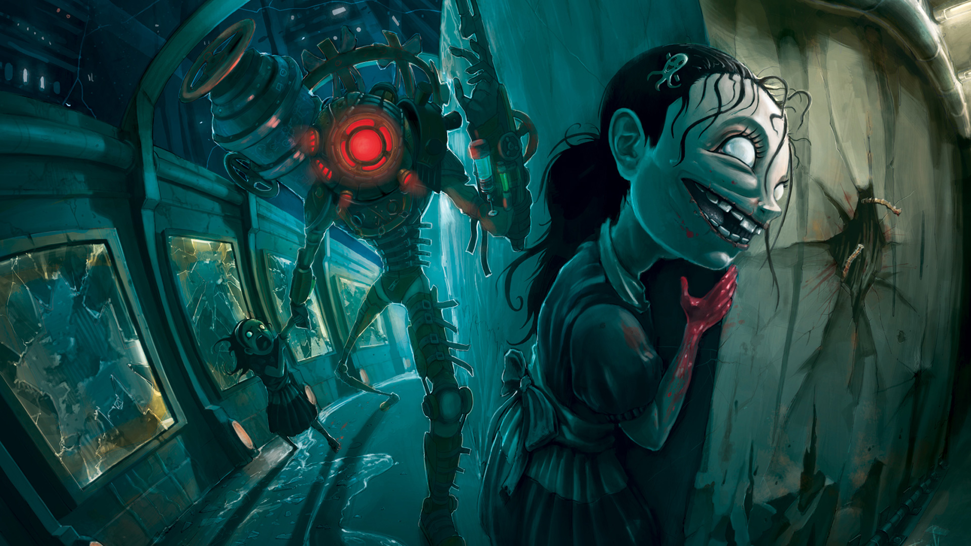 Free Bioshock 2 Wallpaper in 1920x1080