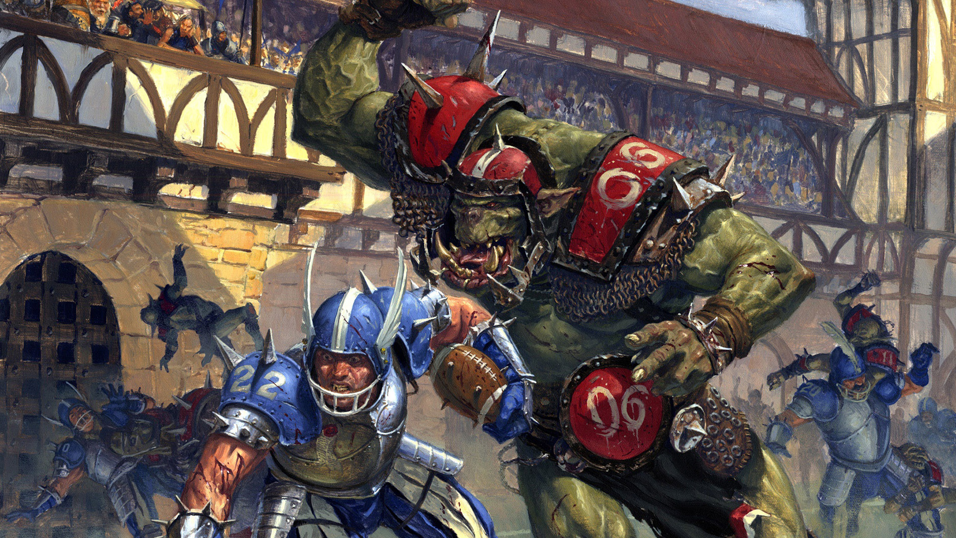 Blood Bowl Wallpaper in 1920x1080