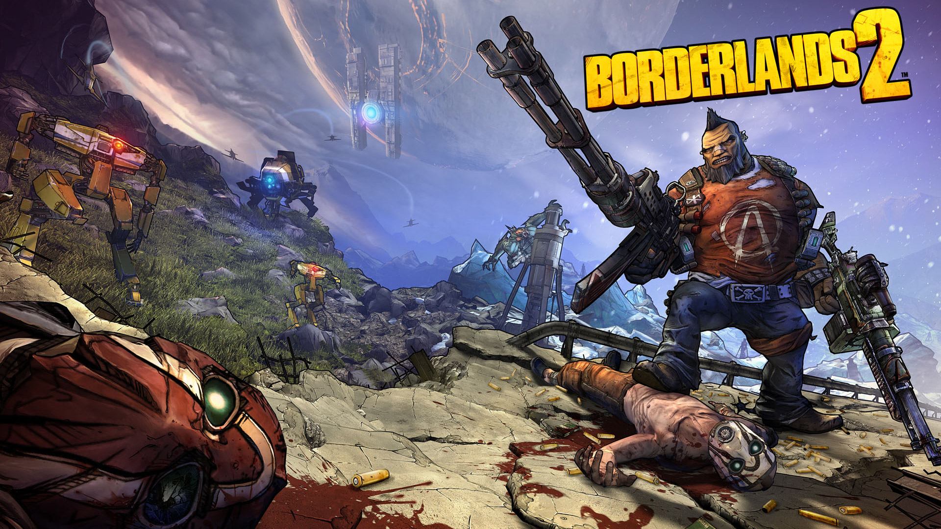 Free Borderlands 2 Wallpaper in 1920x1080