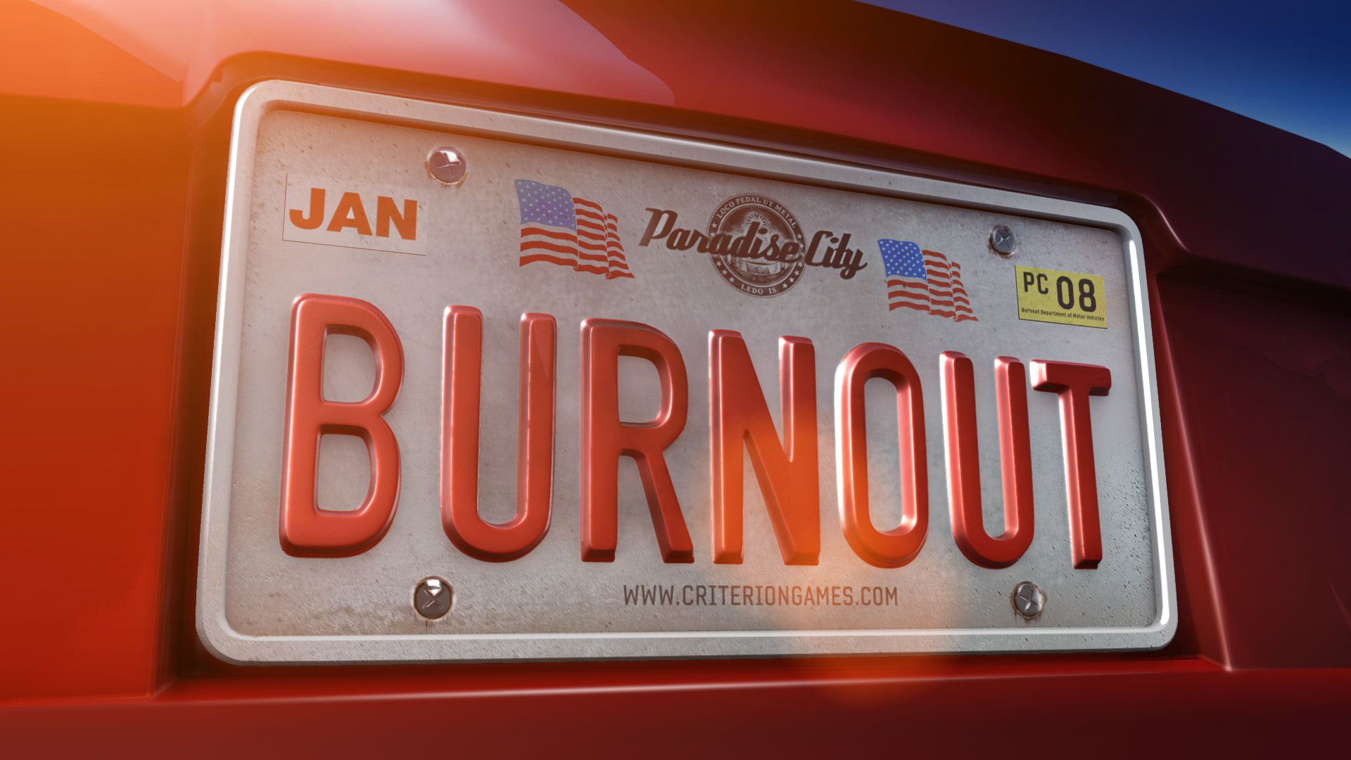 Free Burnout Paradise Wallpaper in 1920x1080