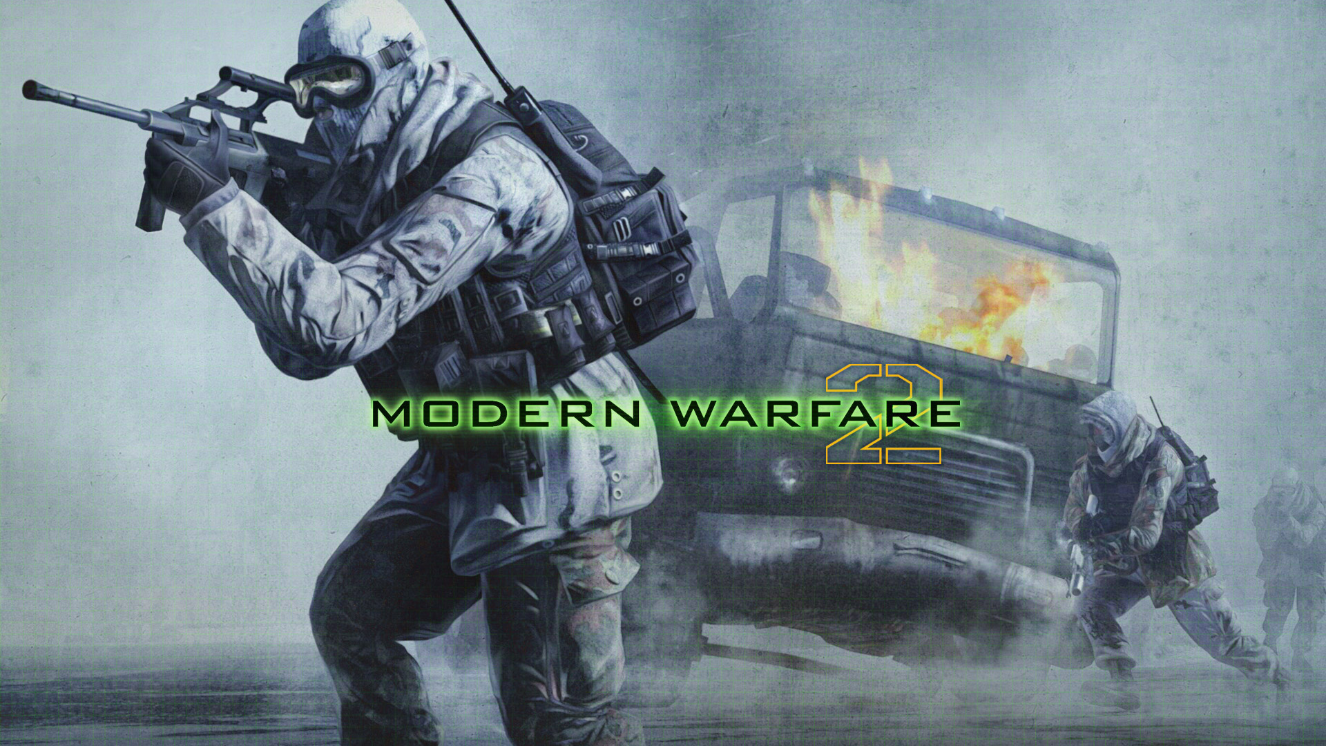 Free Call of Duty: Modern Warfare 2 Wallpaper in 1920x1080