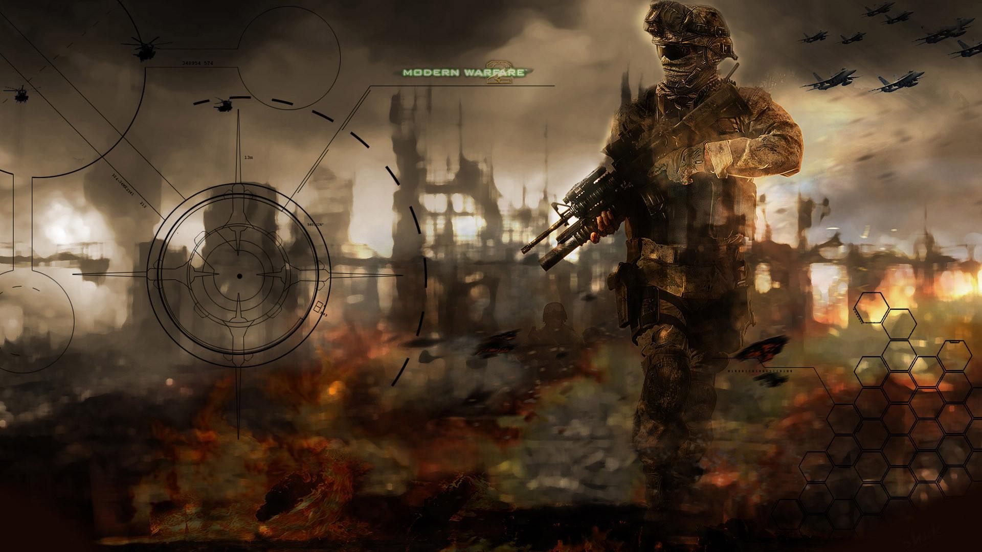 Free Call of Duty: Modern Warfare Wallpaper in 1920x1080