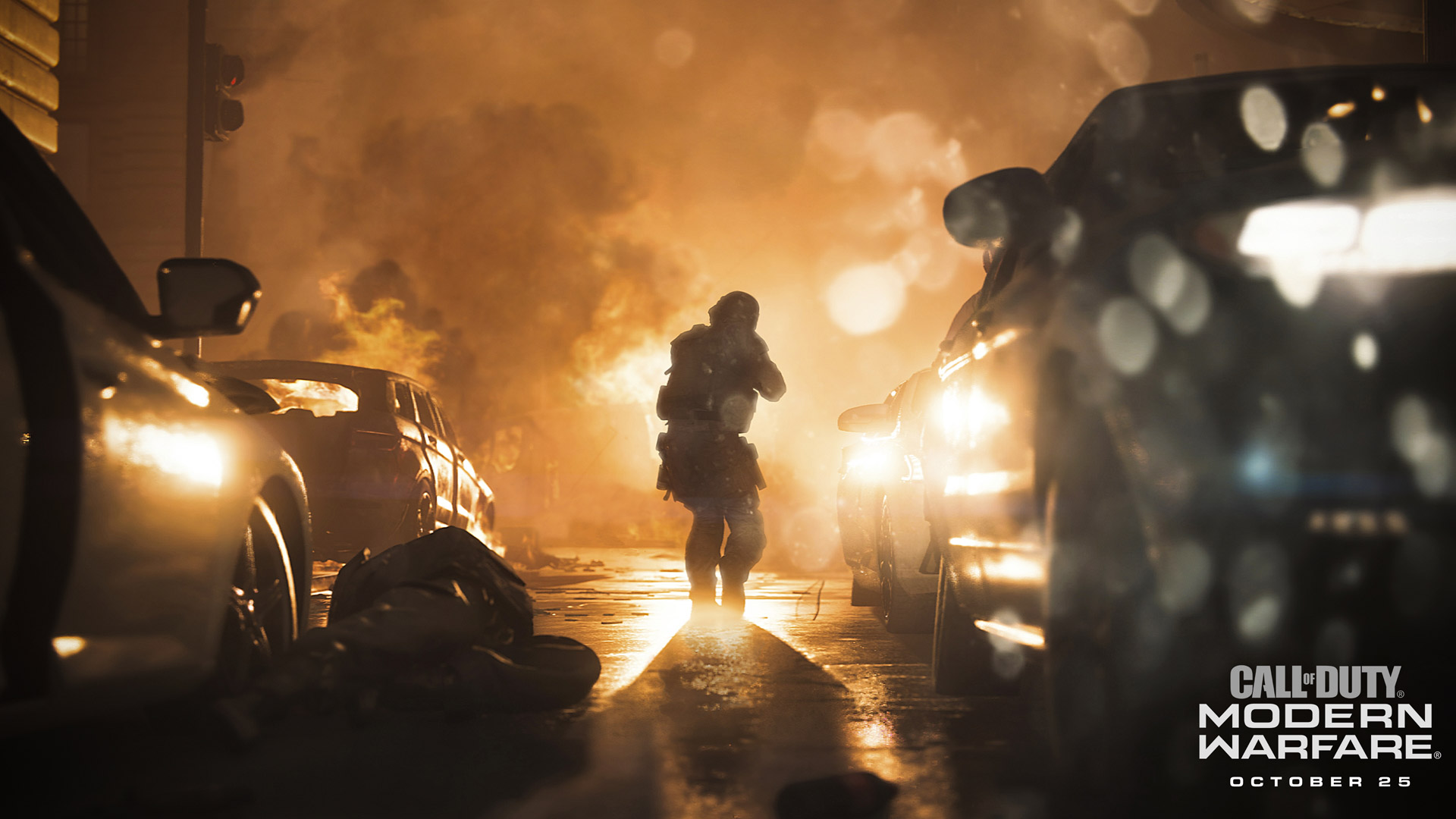 Free Call of Duty: Modern Warfare (2019) Wallpaper in 1920x1080