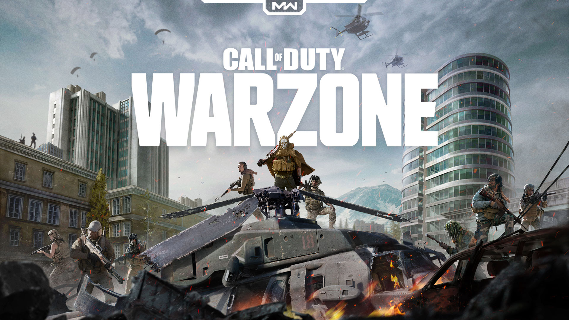 Free Call of Duty: Warzone Wallpaper in 1920x1080