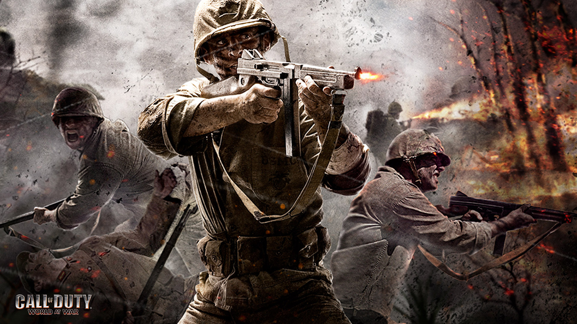 Free Call of Duty: World at War Wallpaper in 1920x1080