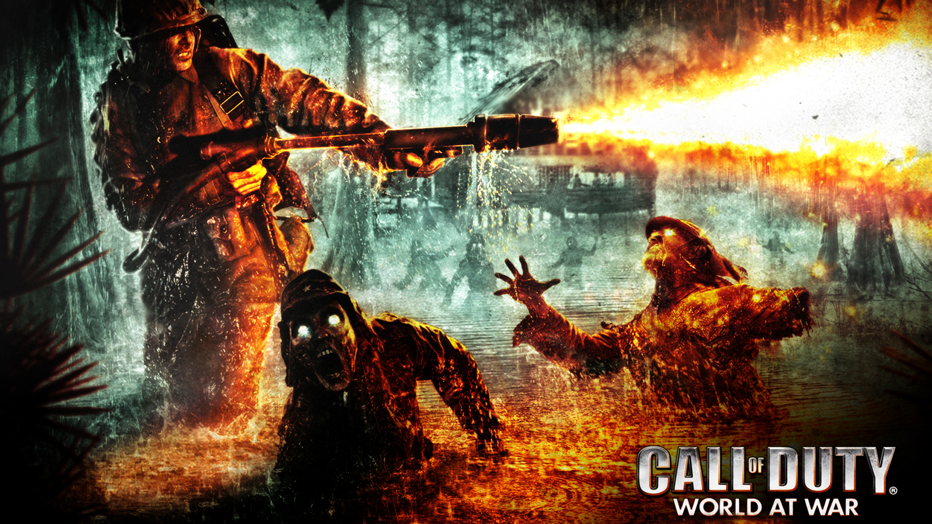 Call of Duty: World at War Wallpaper in 1920x1080
