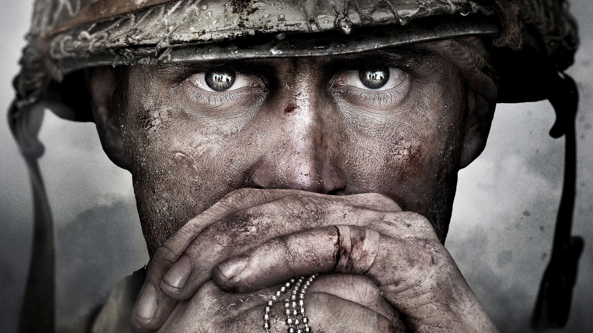 Free Call of Duty: WWII Wallpaper in 1920x1080