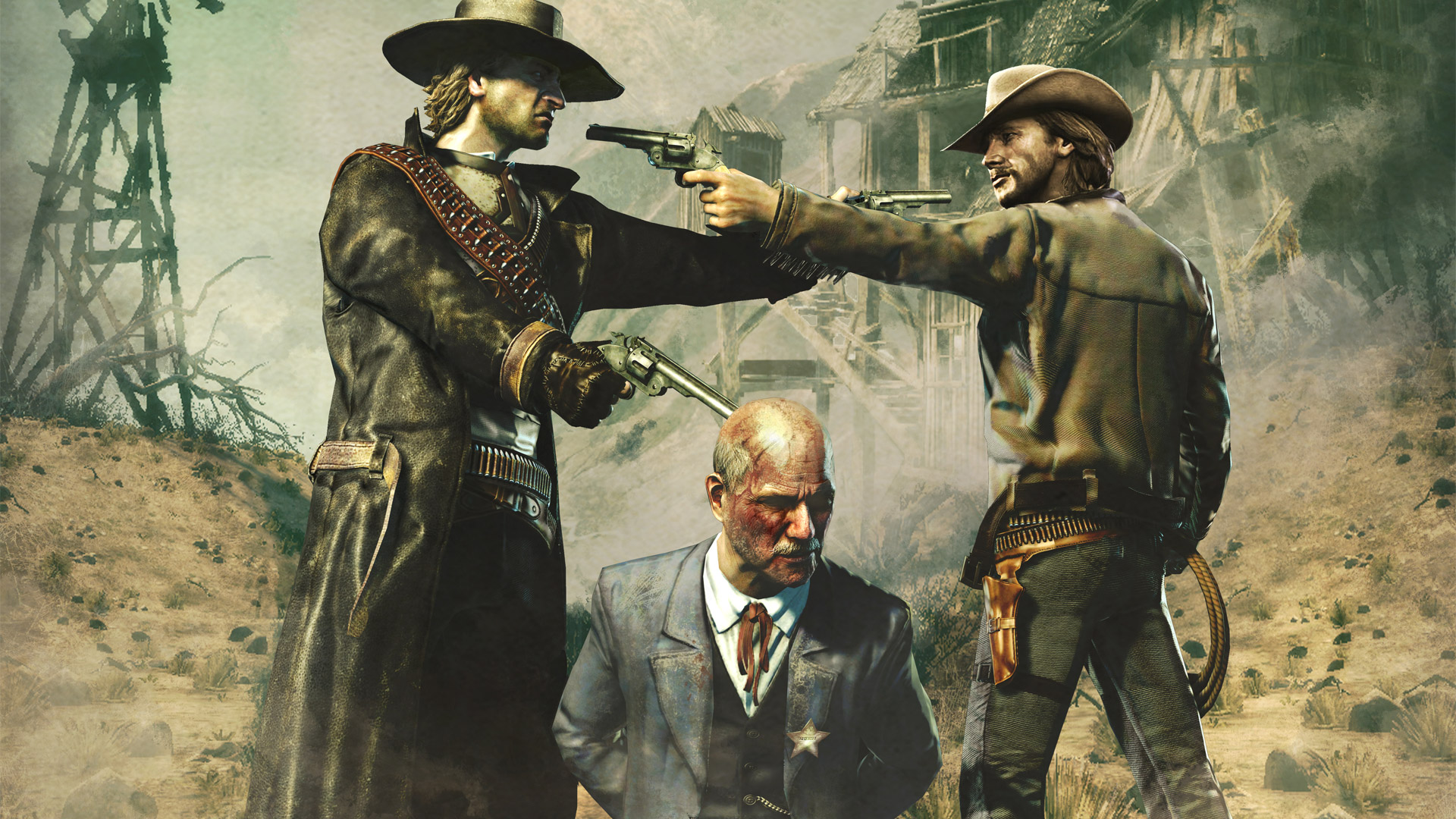 Free Call of Juarez: Bound in Blood Wallpaper in 1920x1080