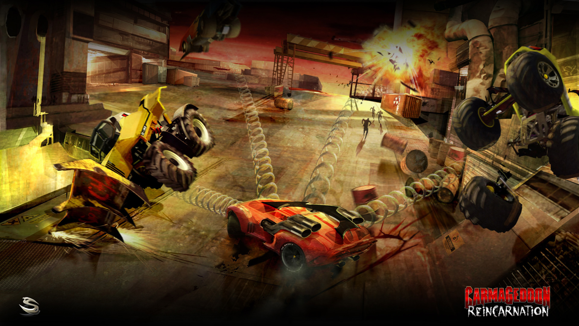 Free Carmageddon: Reincarnation Wallpaper in 1920x1080