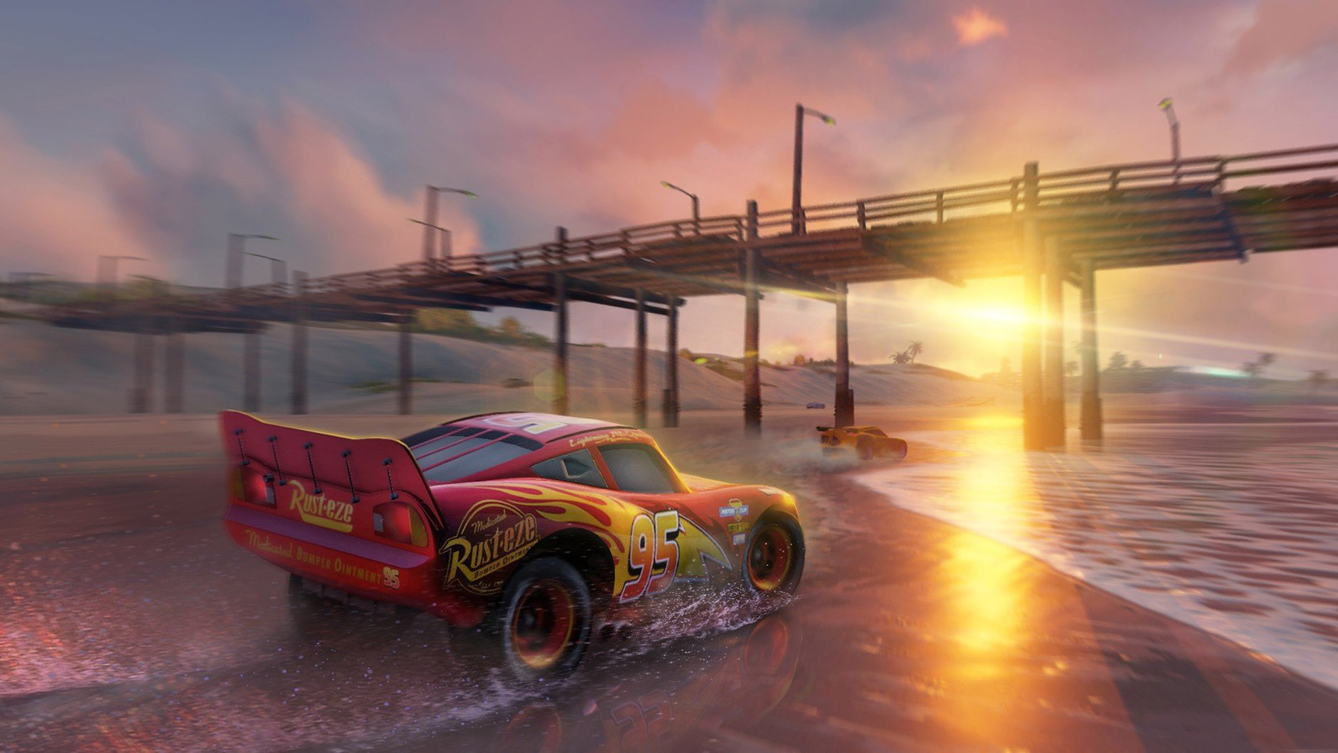 Cars 3: Driven to Win Wallpaper in 1920x1080