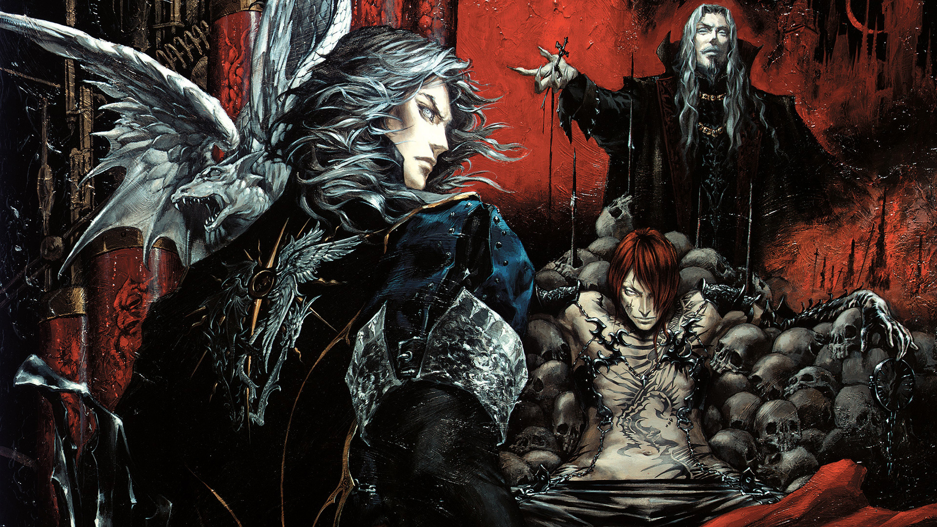 Free Castlevania: Curse of Darkness Wallpaper in 1920x1080