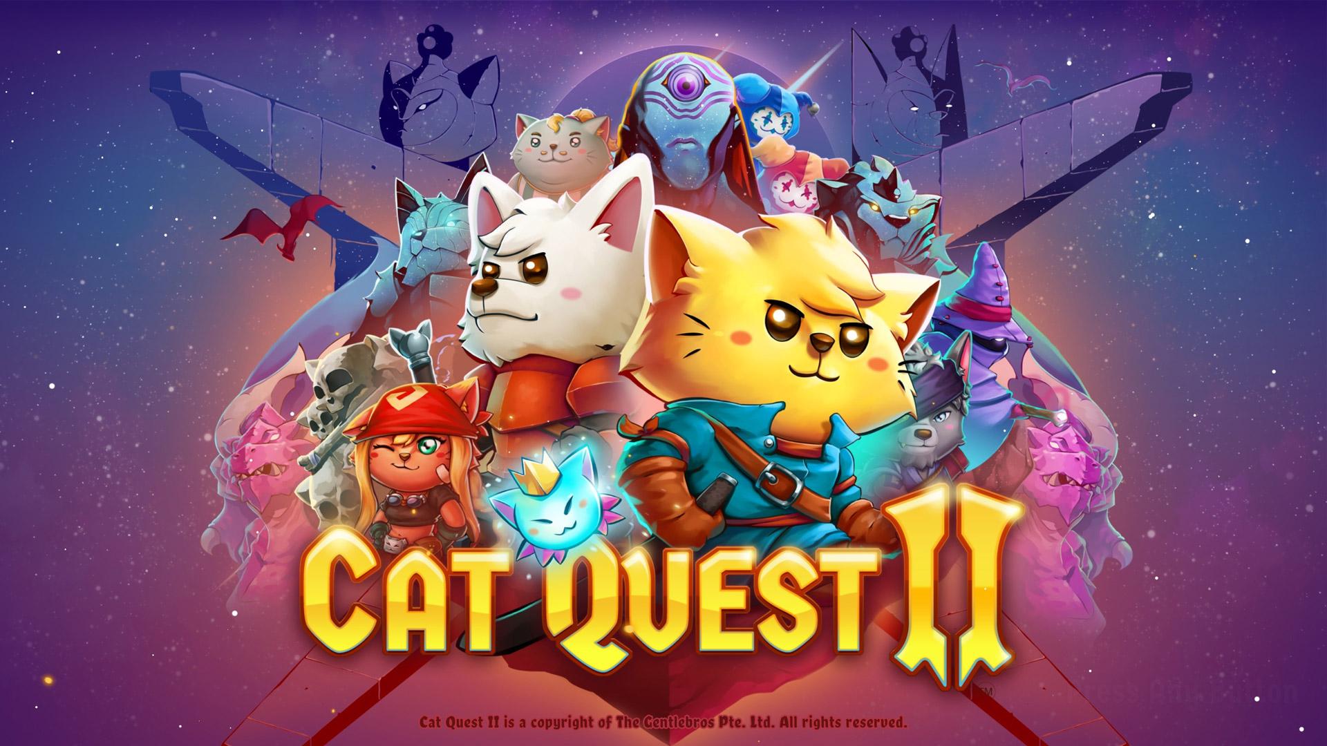 Cat Quest II Wallpaper in 1920x1080