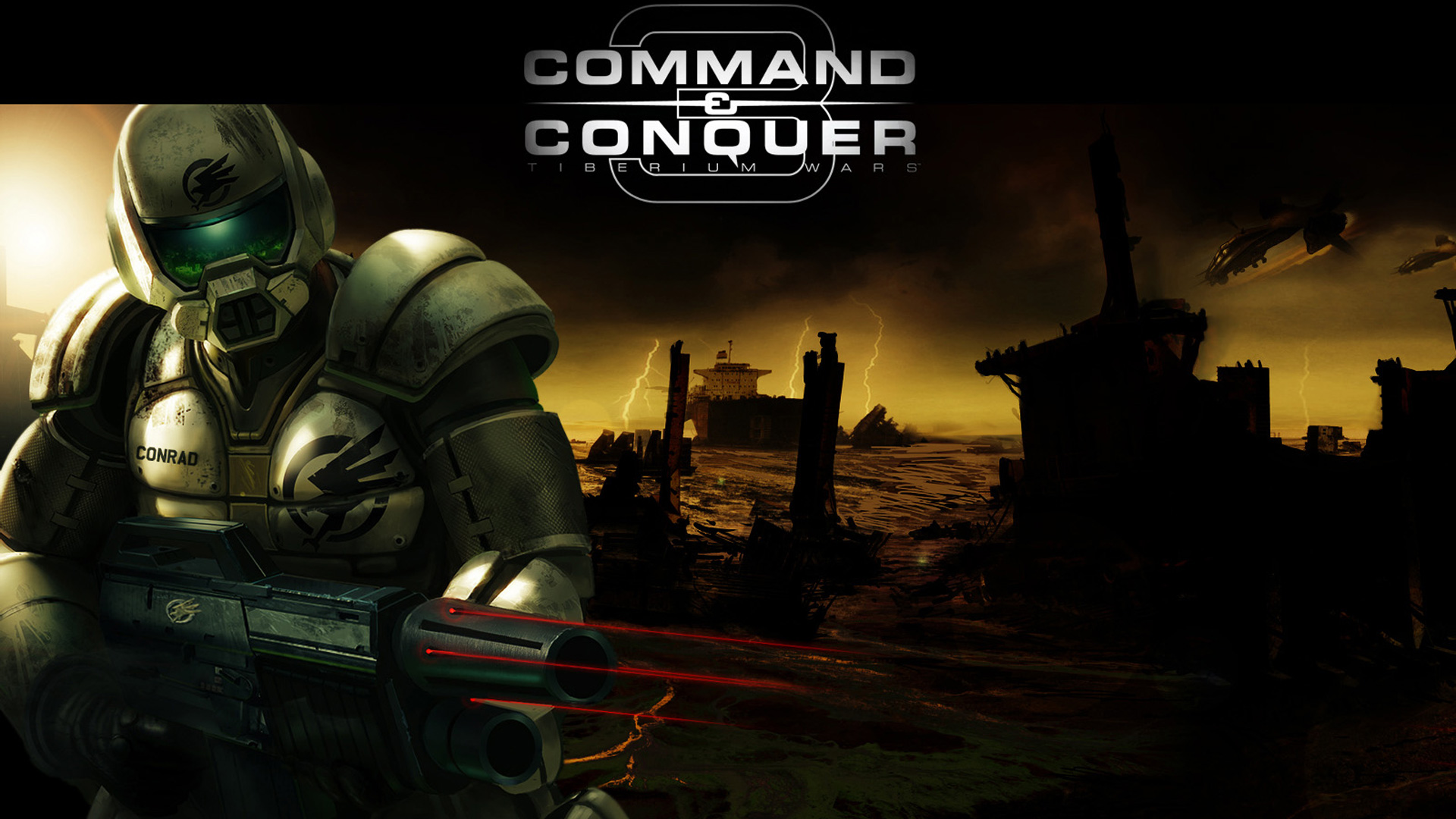 Free Command & Conquer 3 Wallpaper in 1920x1080