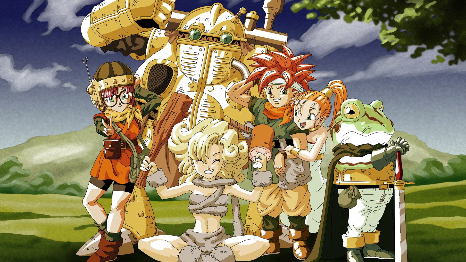 Free Chrono Trigger Wallpaper in 1920x1080