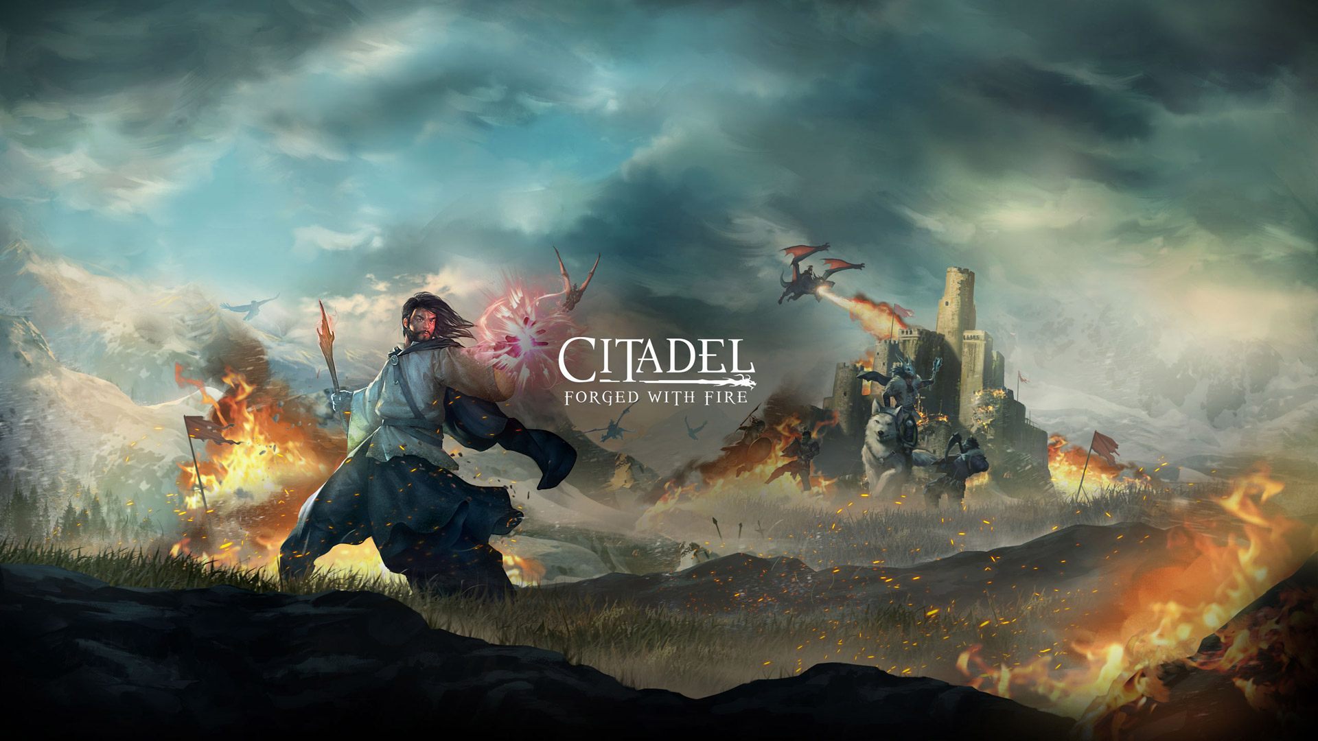 Citadel: Forged With Fire Wallpaper in 1920x1080