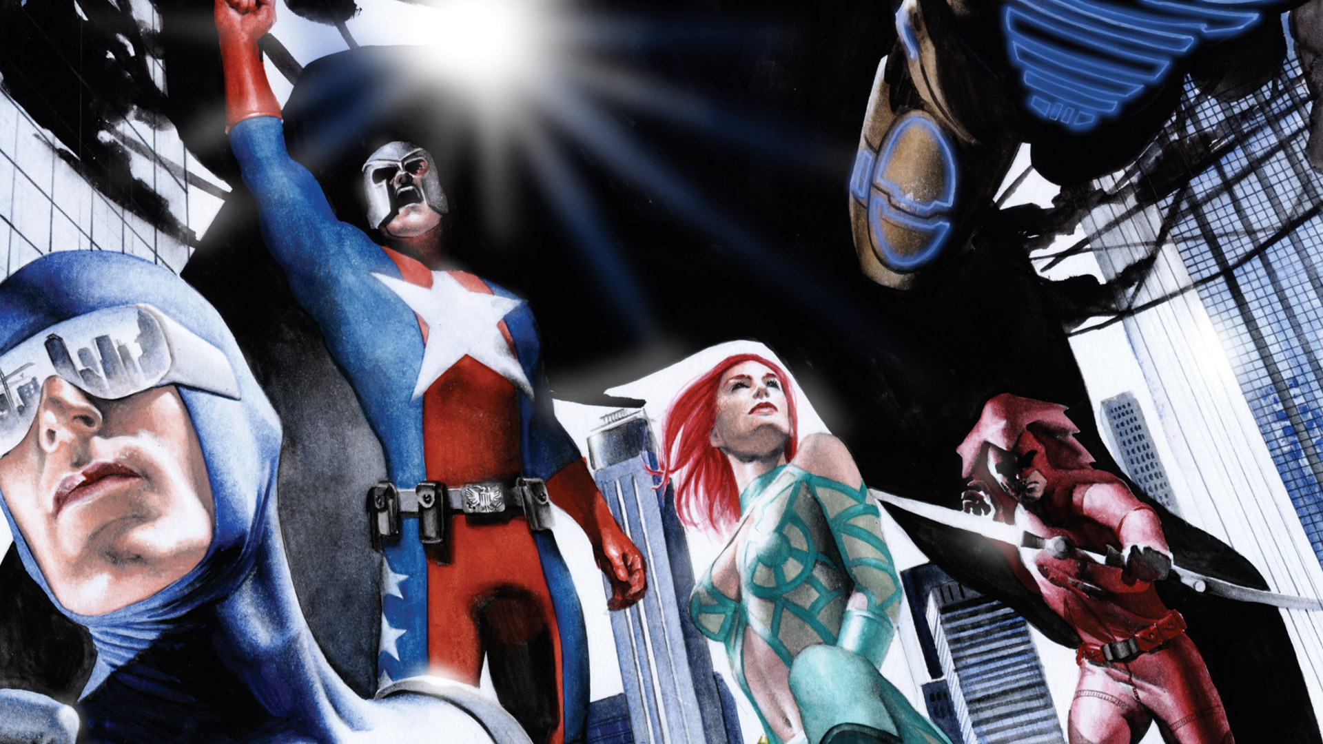 Free City of Heroes Wallpaper in 1920x1080