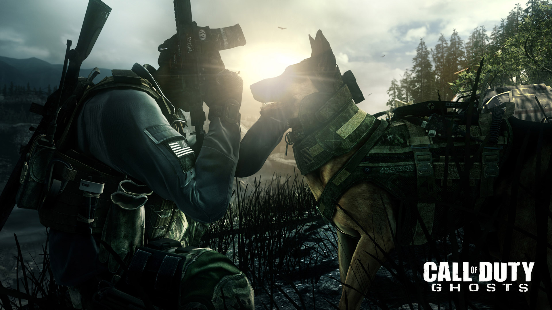 Free Call of Duty: Ghosts Wallpaper in 1920x1080