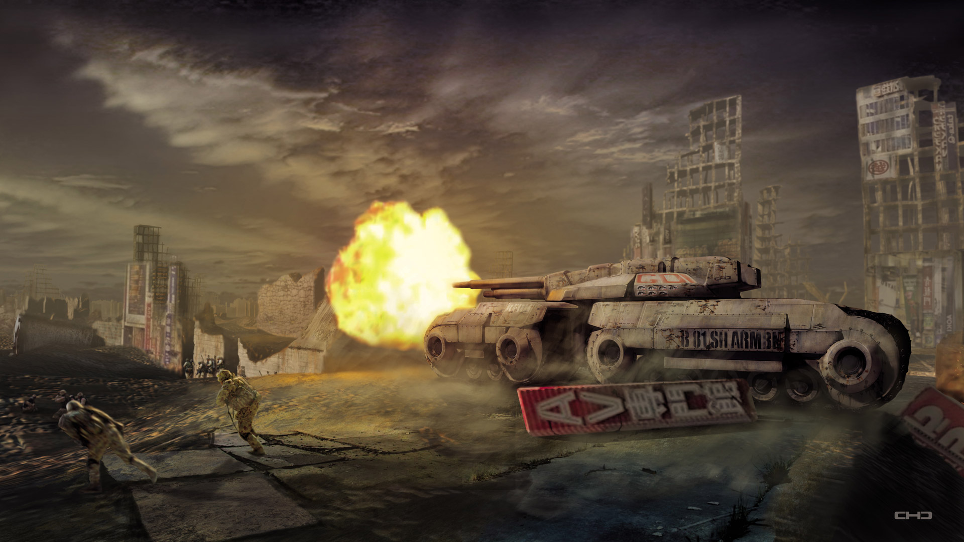 Command & Conquer 3 Wallpaper in 1920x1080