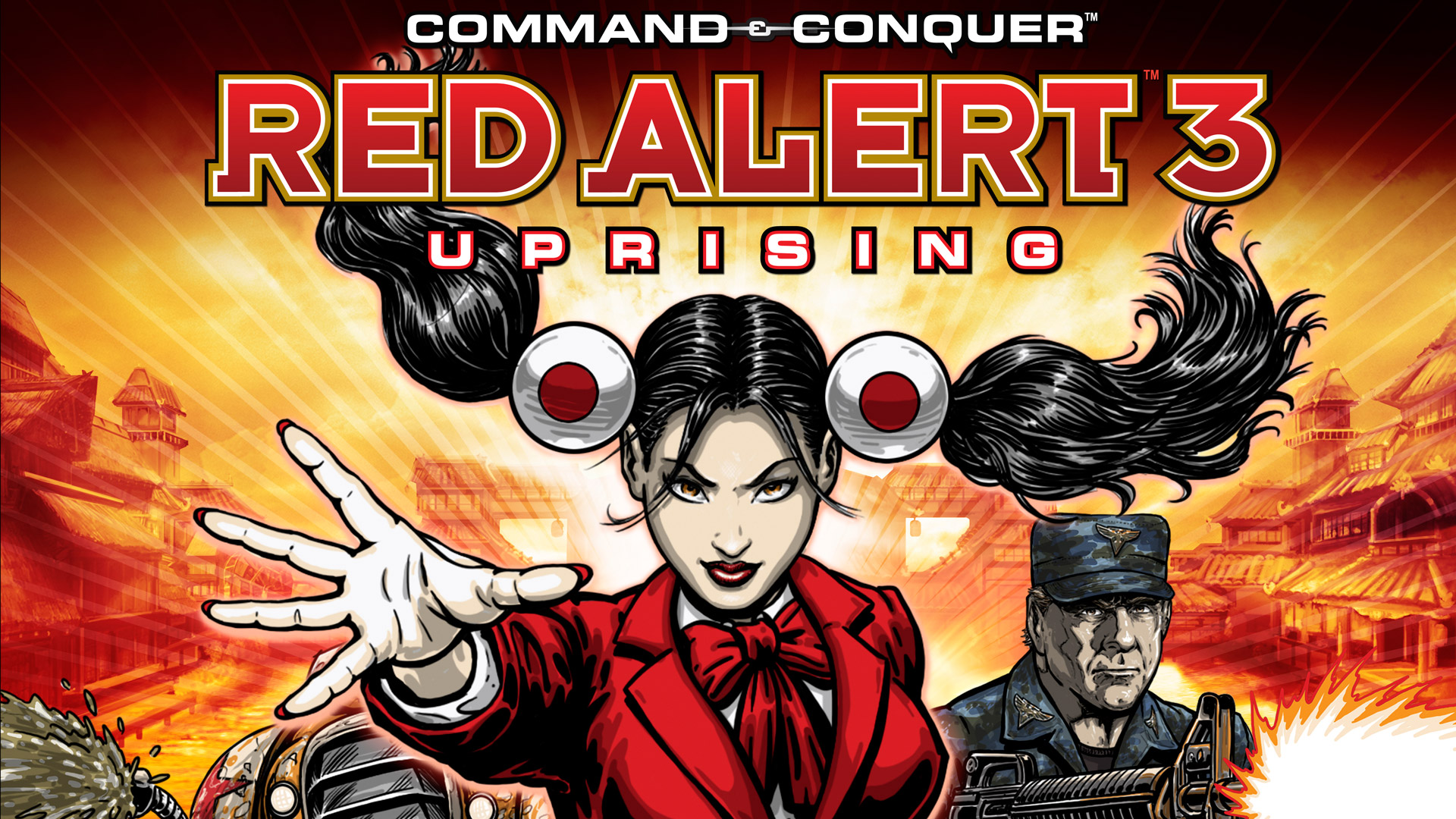 Free Command & Conquer: Red Alert 3 - Uprising Wallpaper in 1920x1080