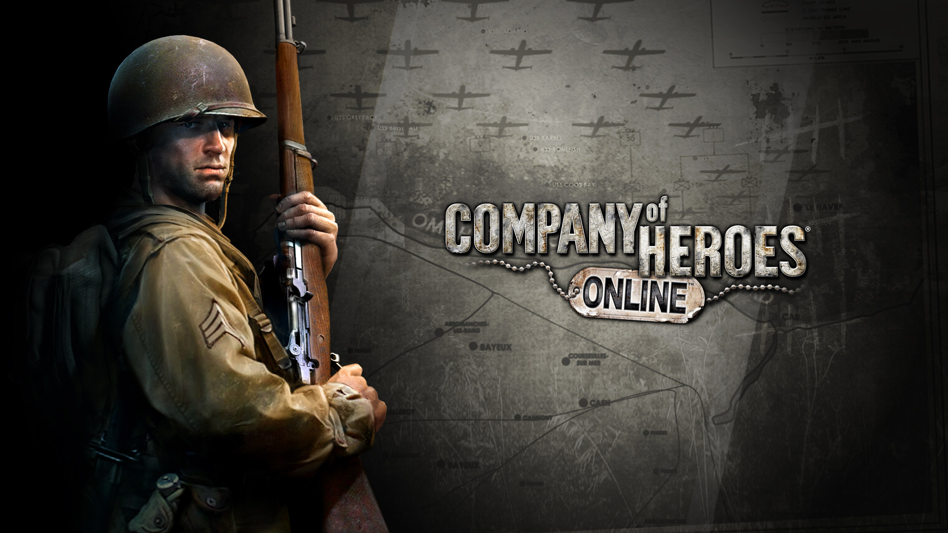 Free Company of Heroes Online Wallpaper in 1920x1080
