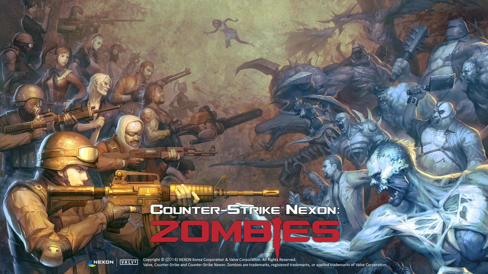 Free Counter-Strike Nexon: Zombies Wallpaper in 1920x1080
