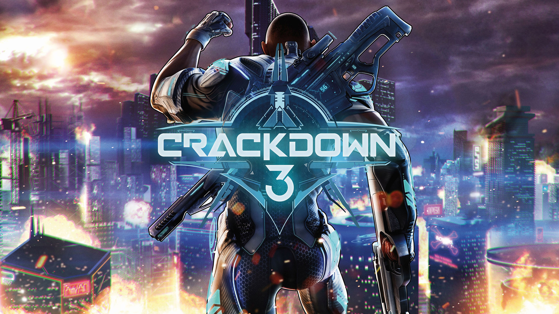 Crackdown 3 Wallpaper in 1920x1080