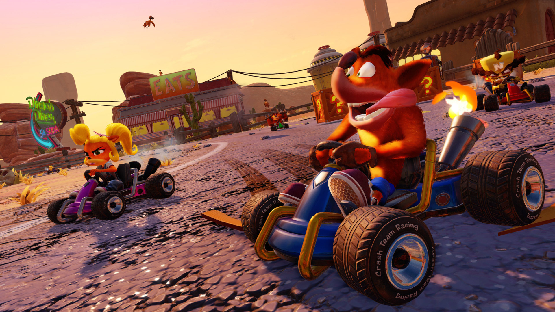 Free Crash Team Racing Nitro-Fueled Wallpaper in 1920x1080