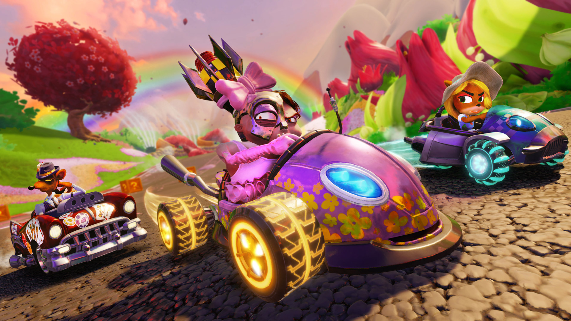 Crash Team Racing Nitro-Fueled Wallpaper in 1920x1080