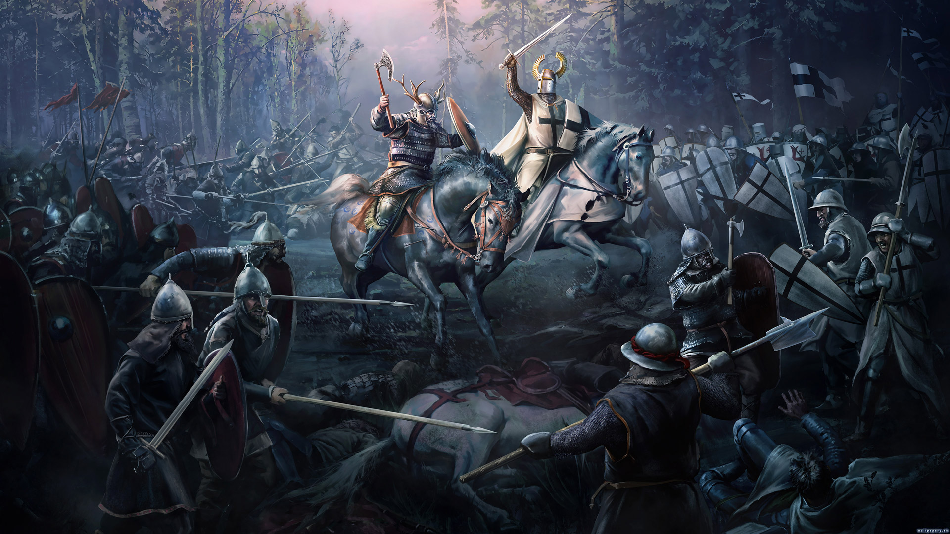 Free Crusader Kings II Wallpaper in 1920x1080