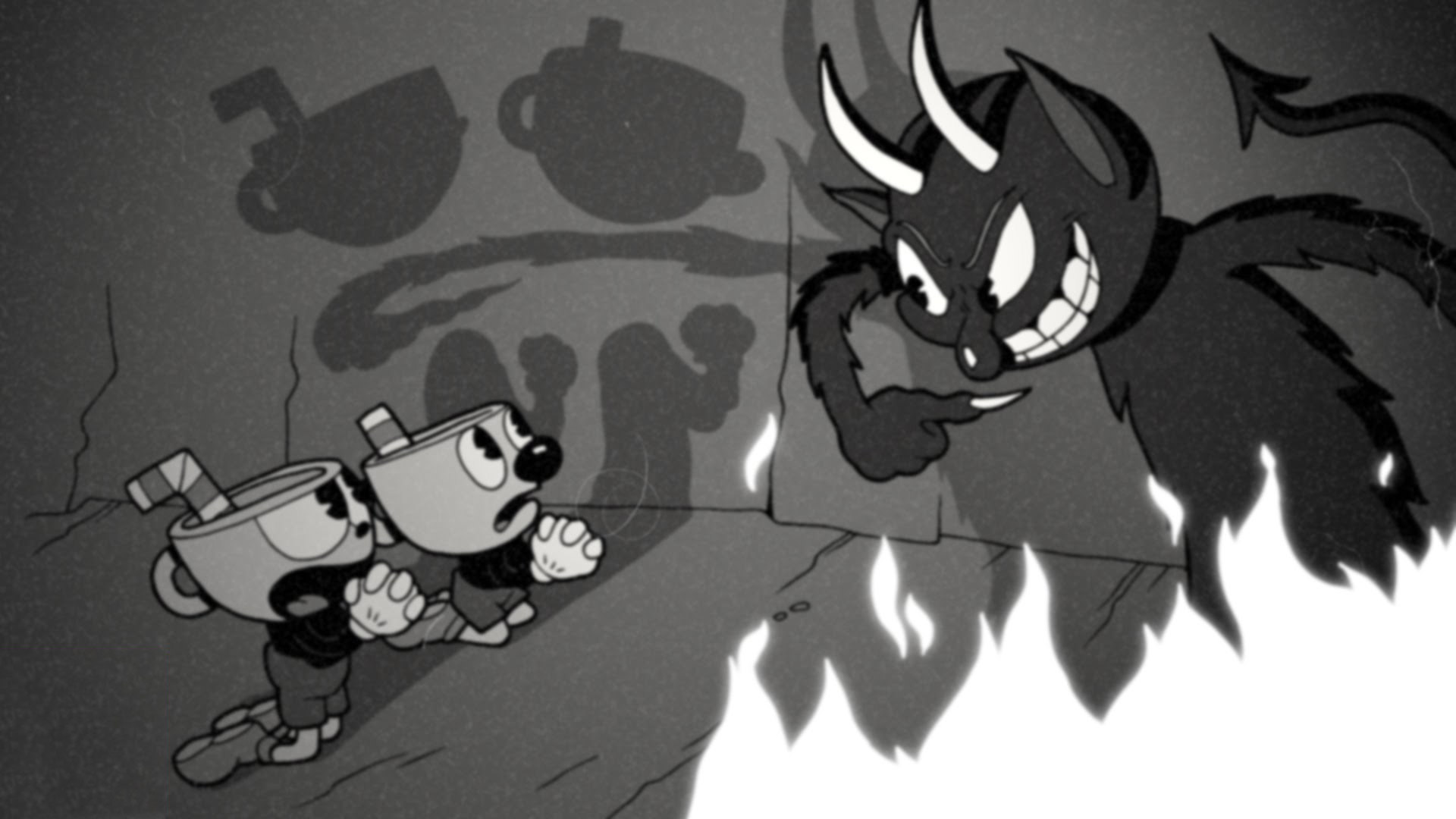Cuphead Wallpaper in 1920x1080