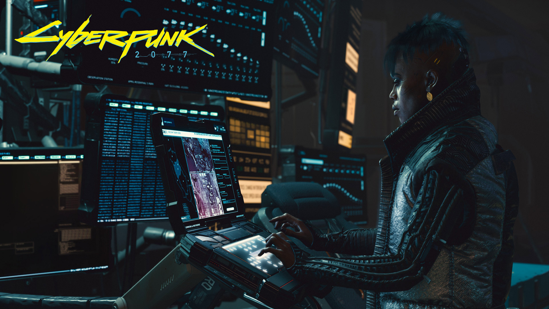 Free Cyberpunk 2077 Wallpaper in 1920x1080