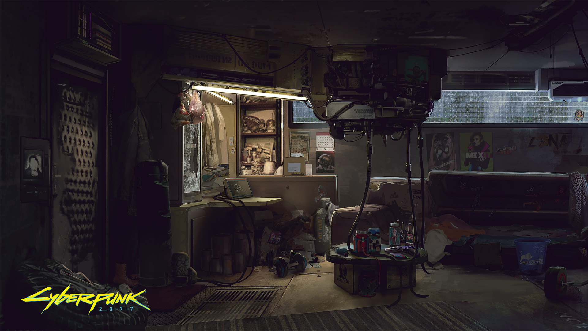 Free Cyberpunk 2077 Wallpaper in 1920x1080