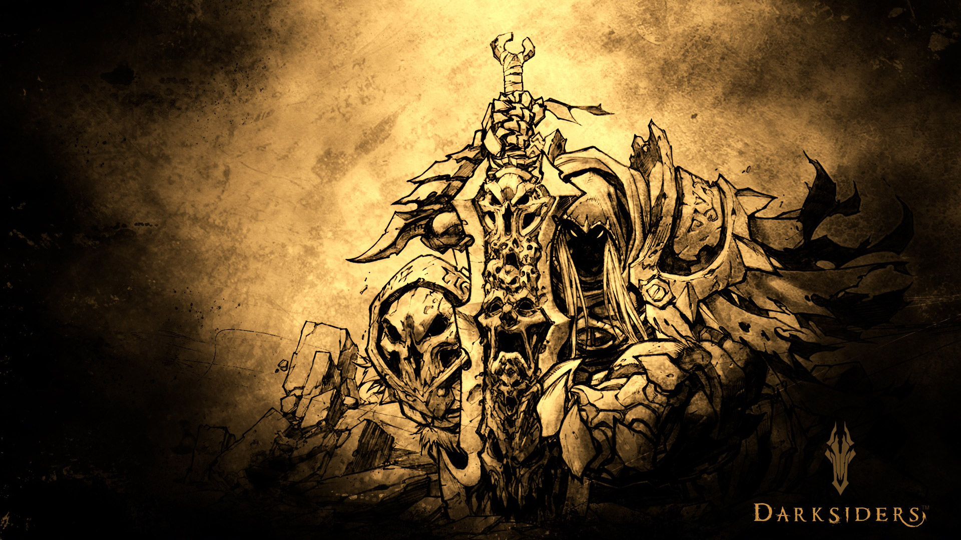 Darksiders Wallpaper in 1920x1080