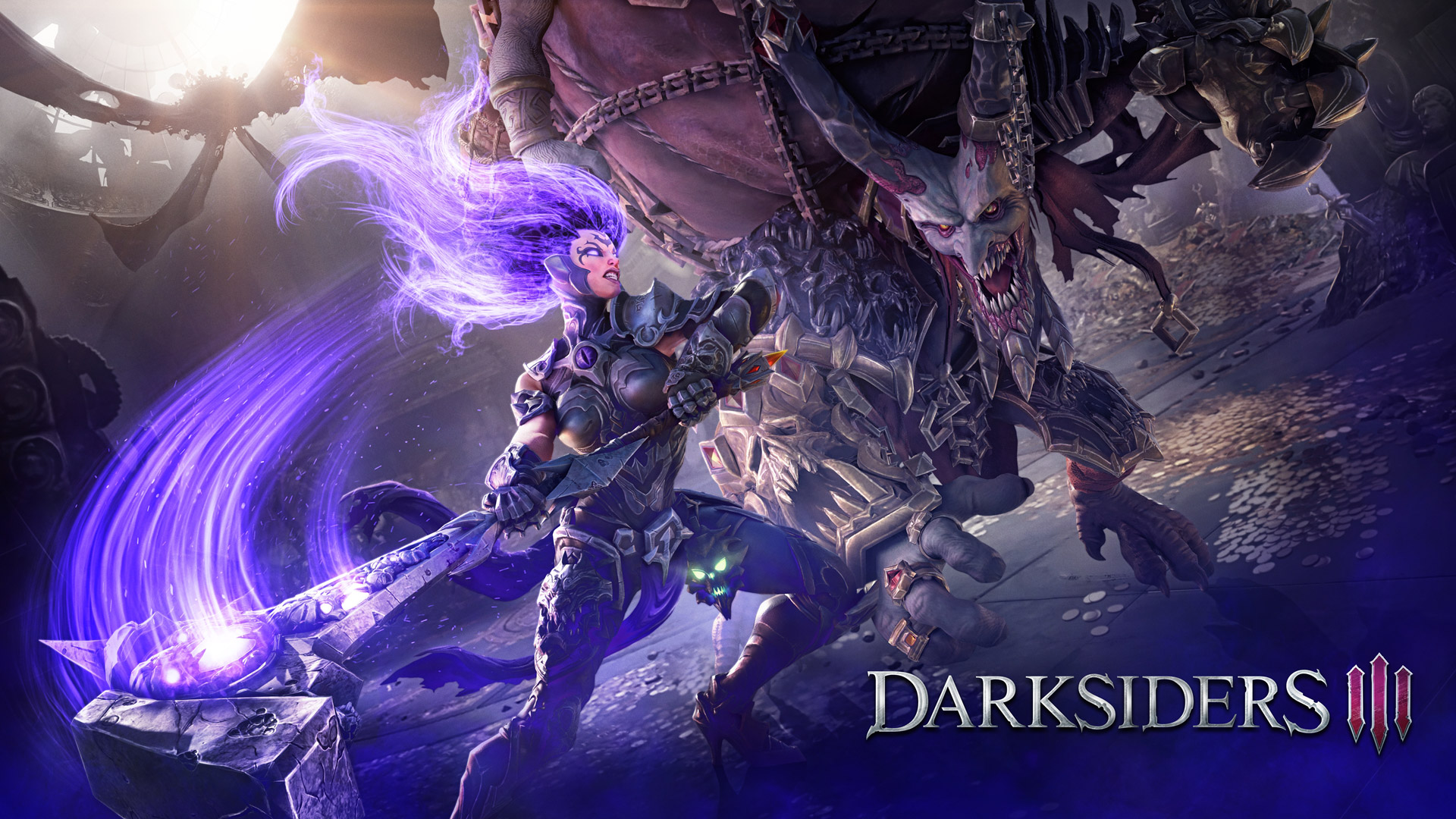Darksiders III Wallpaper in 1920x1080