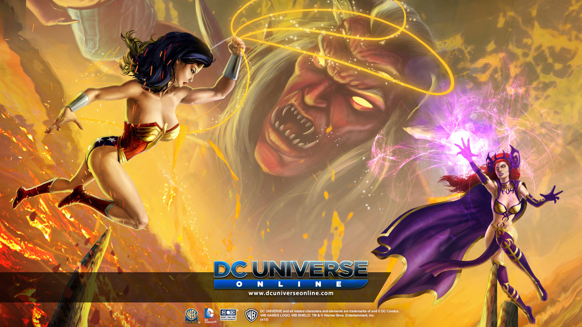 DC Universe Online Wallpaper in 1920x1080