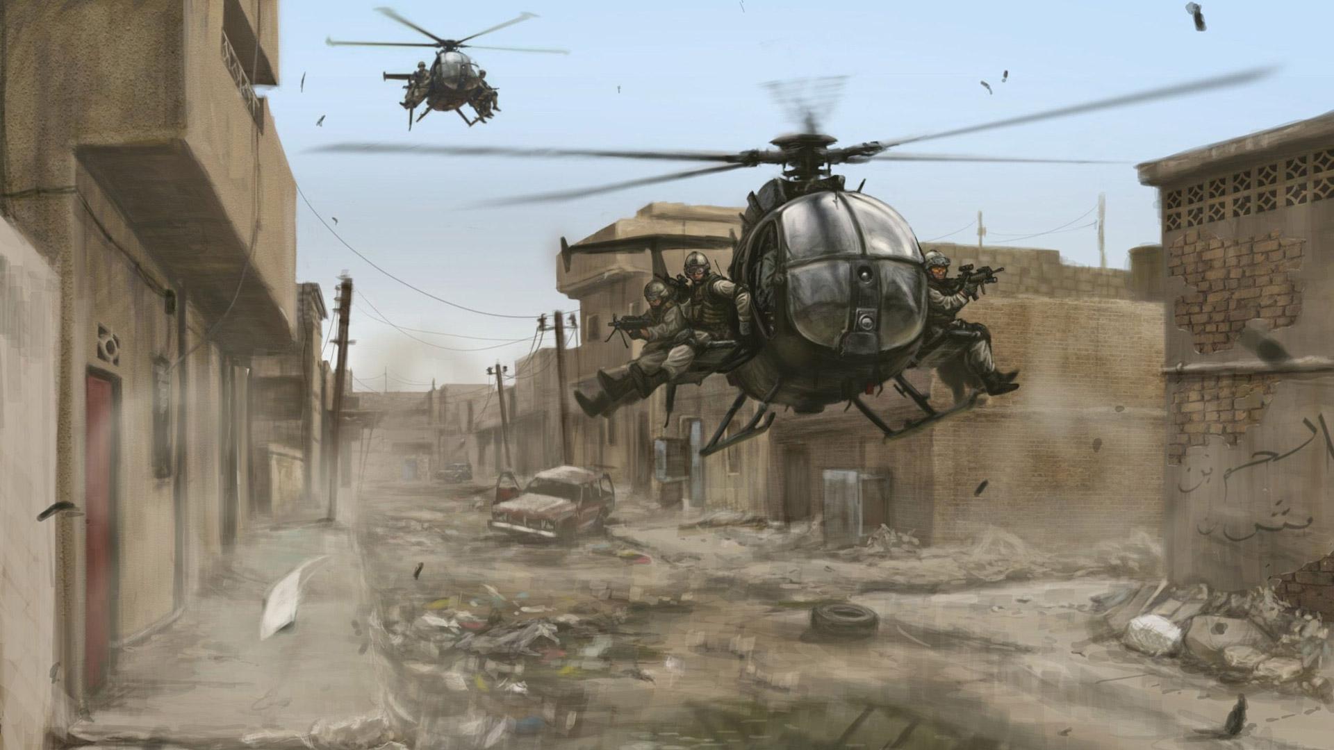 Delta Force: Black Hawk Down Wallpaper in 1920x1080