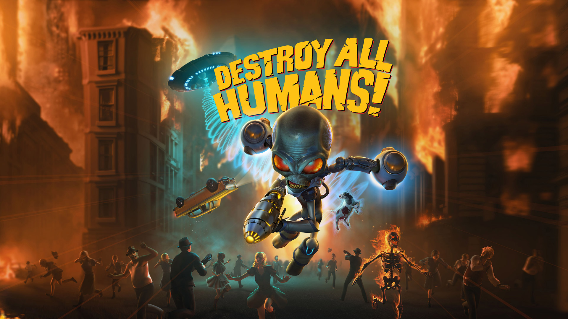 Destroy All Humans! Wallpaper in 1920x1080