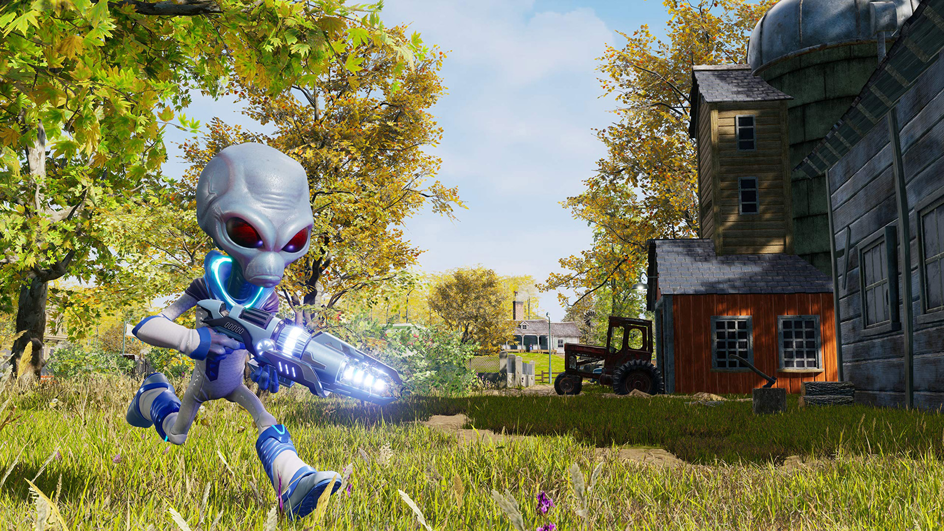 Free Destroy All Humans! Wallpaper in 1920x1080