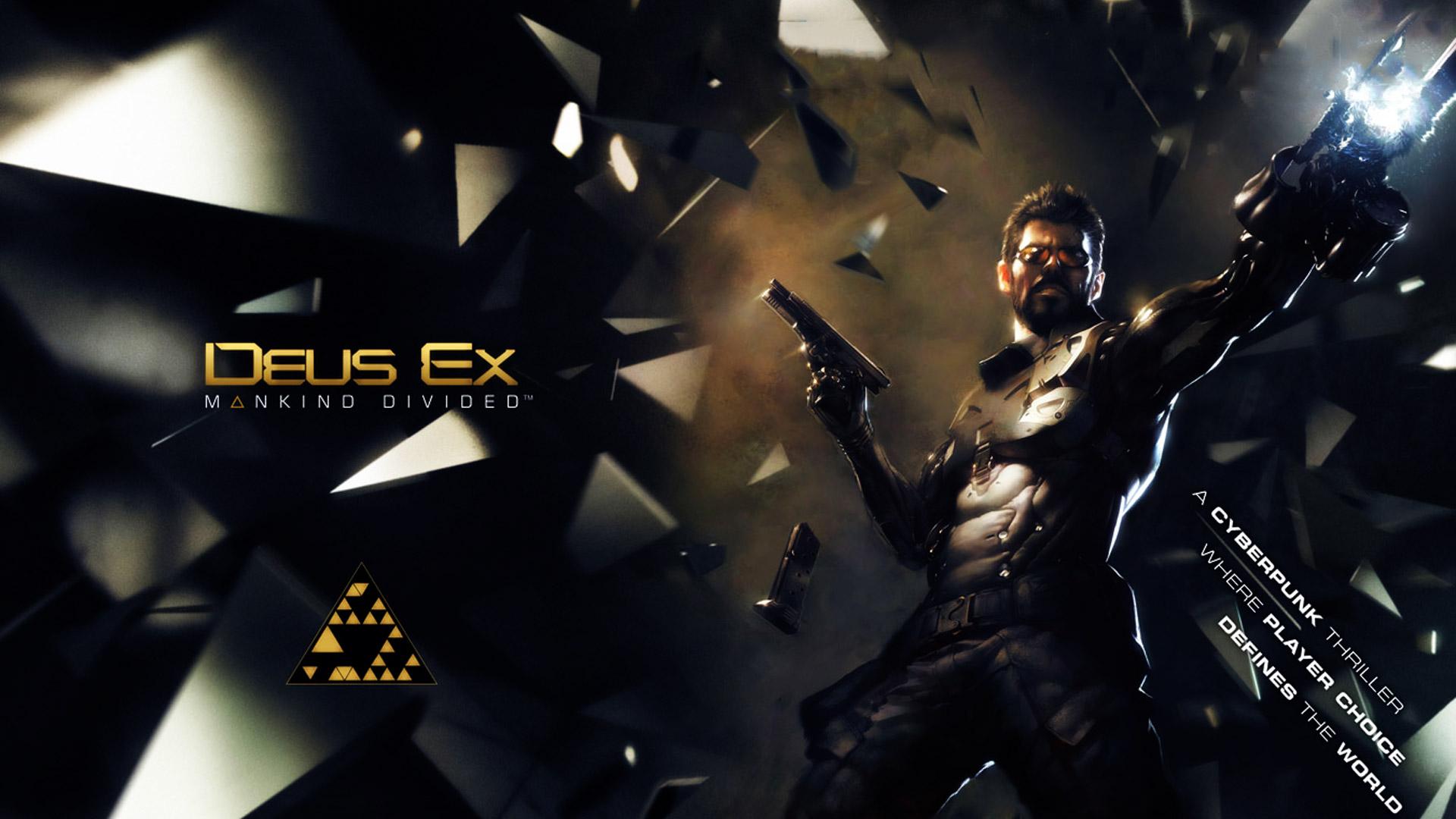 Free Deus Ex: Mankind Divided Wallpaper in 1920x1080