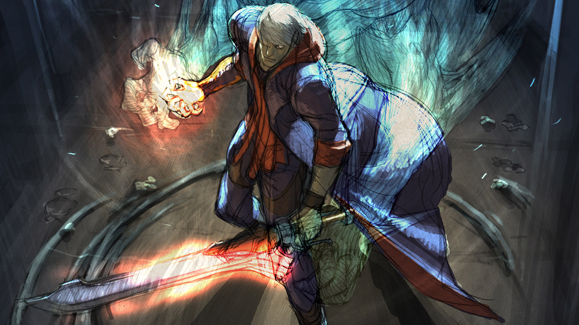 Devil May Cry 4 Wallpaper in 1920x1080