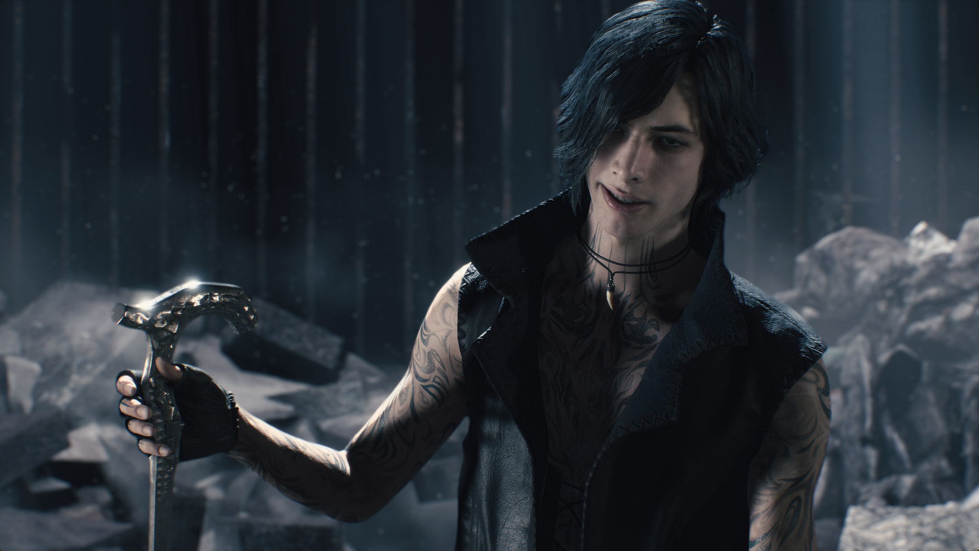 Free Devil May Cry 5 Wallpaper in 1920x1080