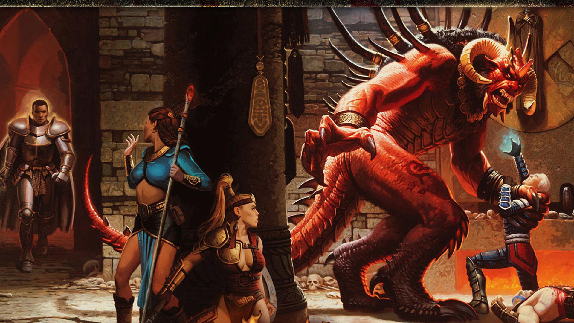 Free Diablo II Wallpaper in 1920x1080
