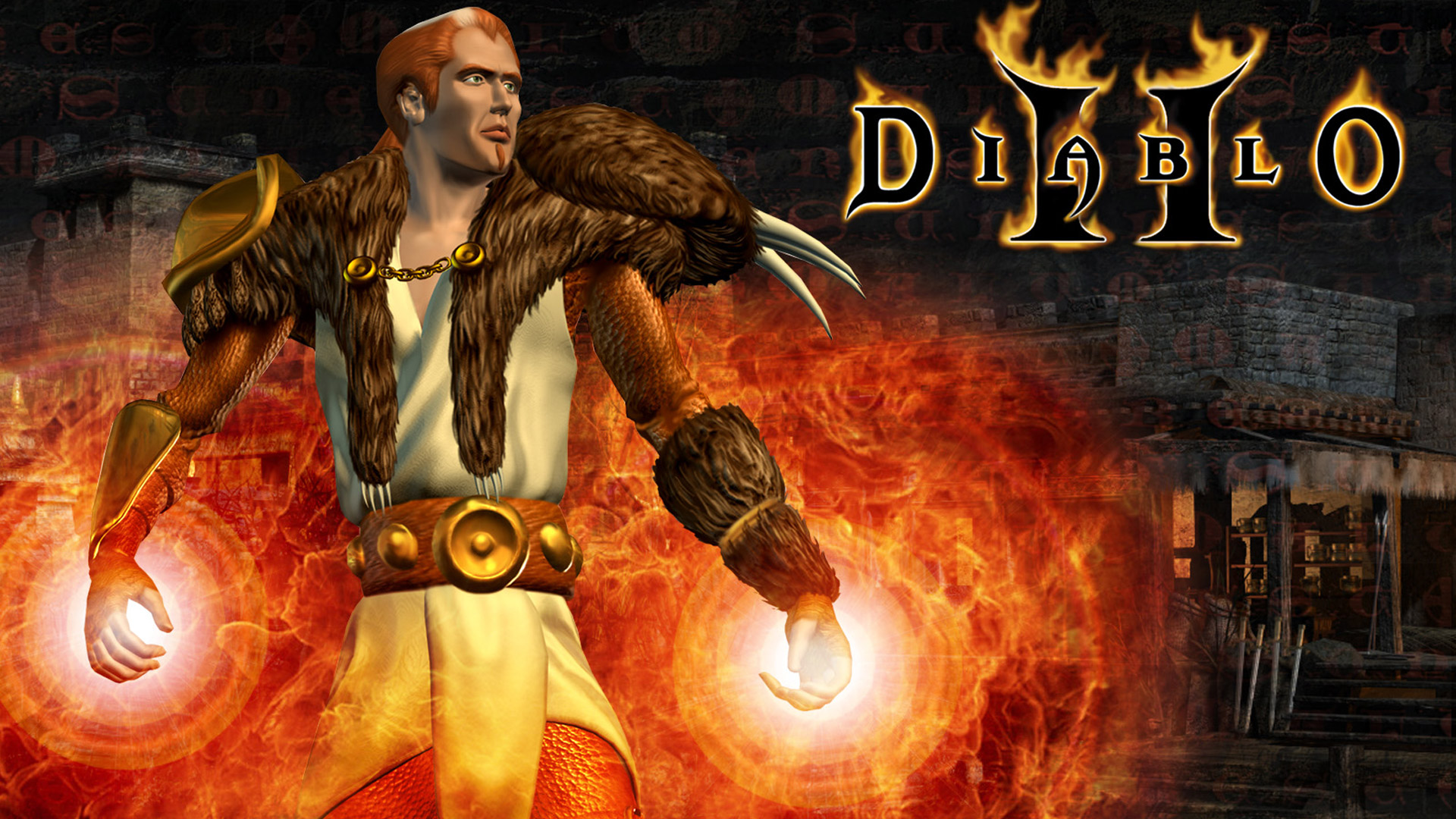 Free Diablo II Wallpaper in 1920x1080